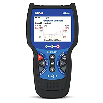 INNOVA 3160RS Pro OBD2 Scanner/Car Code Reader with Live Data ABS SRS Service Light Reset EPB and Network Scan