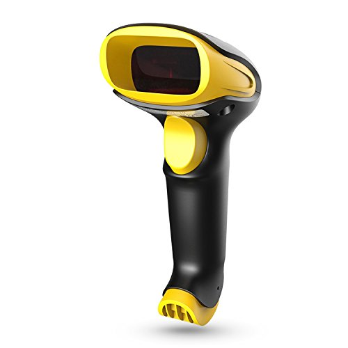 Esky ES017 Handheld USB Wired Barcode Scanner - Automatic 1D and 2D QR Code Reader