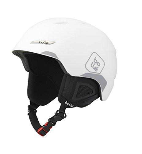 Bollé Byond Cascos de ski, Unisex Adulto, Soft White/Grey, 58-61cm