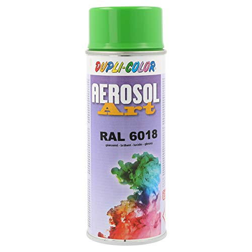 Dupli-Color 722639 Aerosol Art Ral 6018 glänzend 400 ml