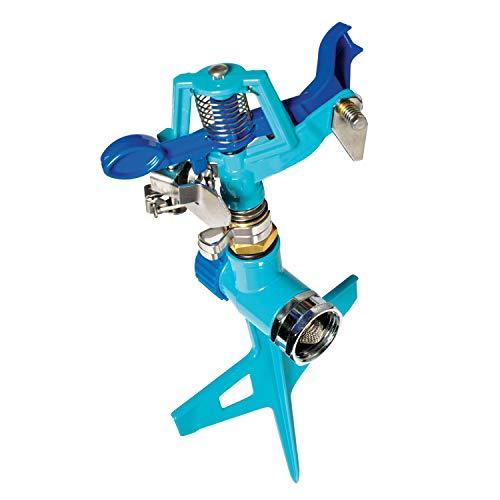 Aqua Joe AJ-ISSS Indestructible Impulse Sprinkler w/HD Stepped One-Way Spike