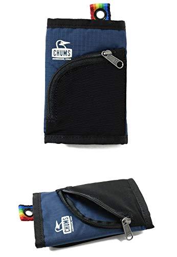 CHUMS(チャムス)スプリングデールトリフォルドウォレット財布CH60-2740オレンジ×ブルー:D015