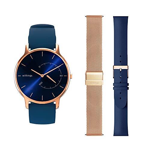 Withings Geschenk-Box - Move Timeless Chic Rose Gold & Blau + 2 zusätzliche Armbänder