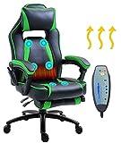 Delman Massage Gaming Stuhl Racing Stuhl Bürostuhl XXL Size Computerstuhl...