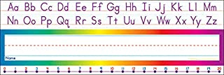 Scholastic Alphabet-Number Line (Standard) Name Plates (TF1528)