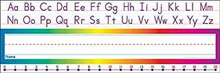 Scholastic Alphabet-Number Line (Standard) Name Plates (TF1528)