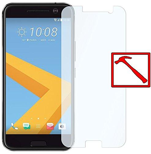 Slabo Premium Panzerglasfolie für HTC 10 Echtglas Bildschirmschutzfolie Schutzfolie Folie (verkleinerte Folien, aufgr& der Wölbung des Bildschirms) Tempered Glass KLAR - 9H Hartglas