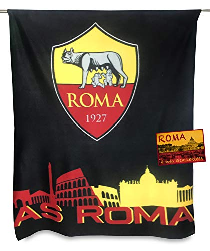 Tex Family - Manta forro polar equipo fútbol Roma
