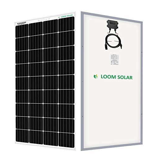 LOOM SOLAR 180 Watt-12 Volt Mono PERC Panel (Pack...