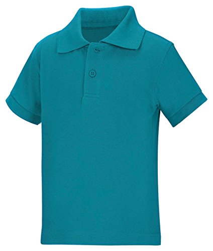 Classroom Uniforms 58990 Toddler's Preschool SS Pique Polo Teal Size 2T
