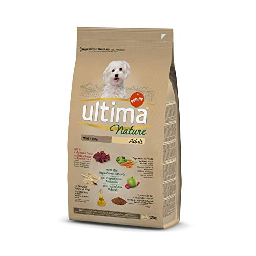 Ultima Nature Pienso Perros Mini Cordero - 1.25 kg