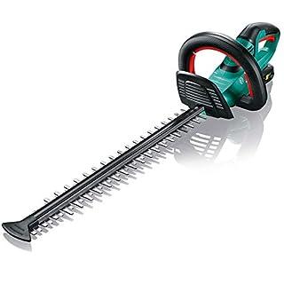 scheda bosch ahs 50-20 li tagliasiepi (1 batteria, sistema 18 volt, lunghezza di taglio 50 cm, distanza lama 20 mm, in scatola)