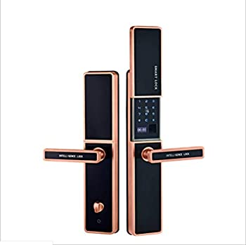 Serrure d'empreinte digitale, serrure de mot de passe, serrure futée, serrure antivol de porte, contrôleur de téléphone de glisseur de conducteur de dispositif de verrouillage intelligent