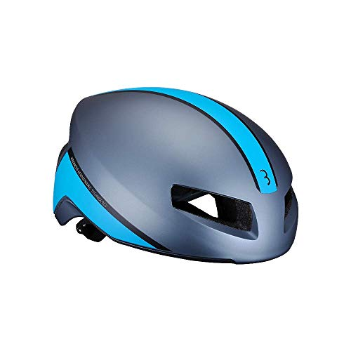 Bbb Cycling Bike helmet Tithon, Matt Grey/Blue, M