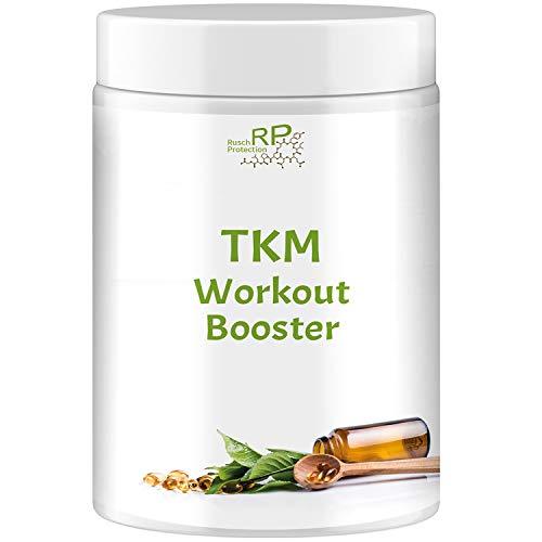 TKM Workout Booster, Tri-Creatin-Malat, 500g pro Dose, Hochdosiert, reines Kreatin Malat, Hardcore Energy, Muskelaufbau Nahrungsergänzungsmittel aus Deutschland