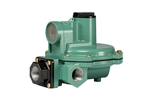 Emerson-Fisher LP-Gas Equipment R642-DFF 2nd Stage Regulator, Side Outlet, 9-13' W.C Spring, 3/4' x 3/4' NPT