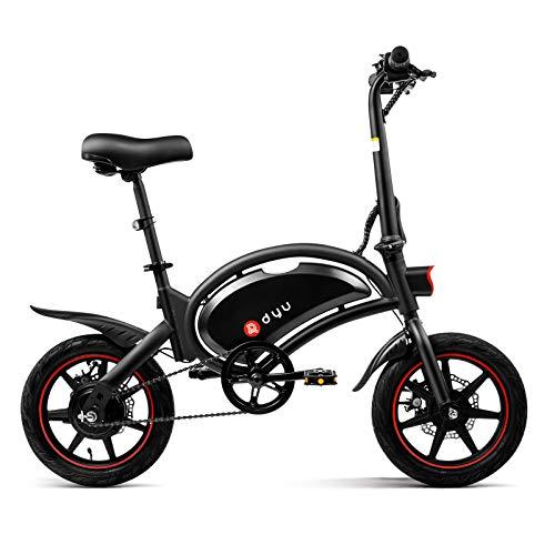 LENTIA Elektrofahrräder E-Bike E-Faltrad Kilometerstand 50 km Höchstgeschwindigkeit 25 km/h Elektro Klappfahrrad 16 kg Rad14 Zoll Elektro-Fahrrad 240W Motor 6Ah LiIonen Akku CE & SGS D3F