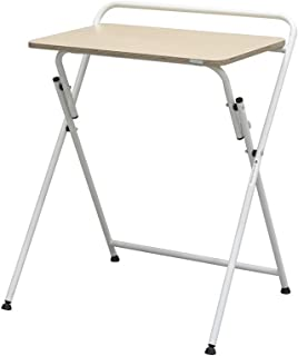 Sponsored Ad - SOFSYS Modern Folding Desk for Small Space, Computer Gaming, Writing, Student and Home Office Organization,...