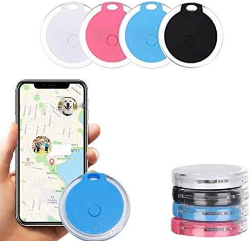 4 Pack Smart Bluetooth Tracker Bluetooth Key Finder Wireless Key Finder RF Item Locator Key product image