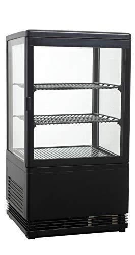 Aufsatzgetränkekühler, 428x386x810 mm, 58 Liter, schwarz