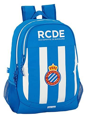 Safta Mochila Escolar R.C.D. Espanyol Oficial 320x160x440mm