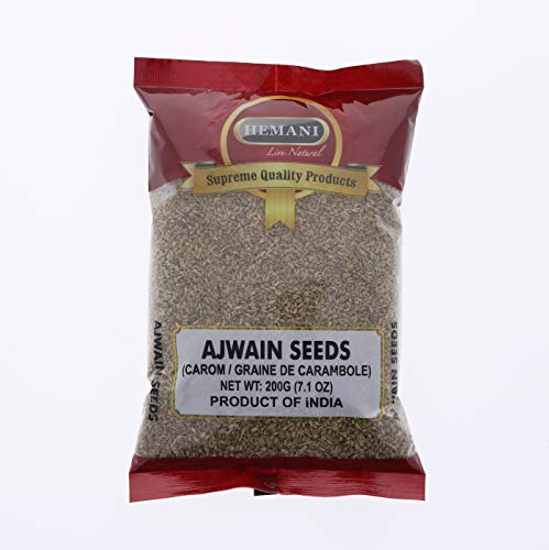 Carom Seed - Ajwain Seeds 200g (7.1 OZ) - For Cooking & Ayurvedic Medicine - Product of India (Best Medicine For Acidity In India)
