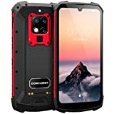 CONQUEST S16 Quick Charge Rugged Smartphone Unlocked,8+128G,IP68 Waterproof, 6.3 Inch Screen,48MP Triple Camera,4G Mobile Phone,6000 mAh Battery,Face ID and NFC,PTT walkie Talkie(RED, 128G)