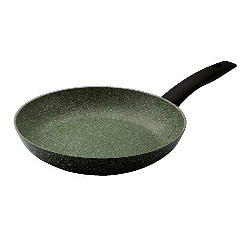 Prestige Eco 28cm Frying Pan, Non Stick Frying Pan, Recycled Aluminium Skillet with Plant-Based Non Stick, Dishwasher-Safe Induction Frying Pan with 5-Year Guarantee