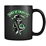 Sons of Anarchy Ireland - Tazza da caffè nera