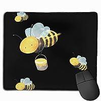 かわいいバンブルビー マウスパッド ノンスリップ 防水 高級感 習慣 パターン印刷 ゲーミング ホビー 事務 おしゃれ 学習