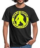 Hockey Eishockey Sprüche Männer T-Shirt, XXL, Schwarz