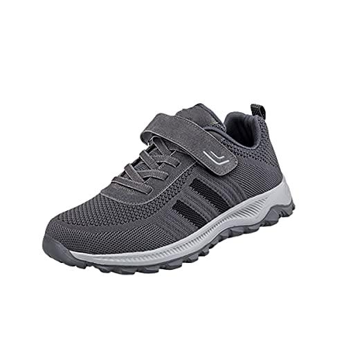 Calzado para Correr Calzado Deportivo Calzado de Fitness al Aire Libre Calzado de Running para Mujer para Hombre Zapatillas Ligeras y Transpirables,Dark Gray,38EU