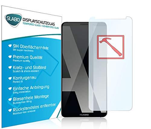 Slabo 3 x Premium Pellicola Protettiva in Vetro Temperato per Huawei Mate 10 PRO Tempered Glass Crystal Clear Graffi Fino a 9H