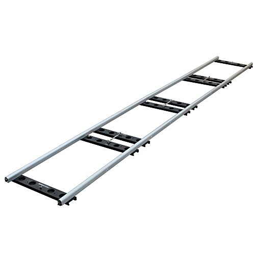 Proaim Stream 16ft Heavy-Duty Cinema Track + Flight Case for Camera Dolly & Jib/Crane up to 1Ton/2200lb | CNC Aluminum Portable Collapsible Track for Film Movie YouTube Video Production (TK-STRS-00)