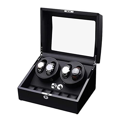 DFJU Relógios e joias Caixa enroladora automática de relógio para enrolamento 4...