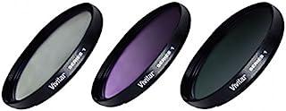 Vivitar FK358 Filter Set für Kamera Objektive, 58 mm, 3 teilig