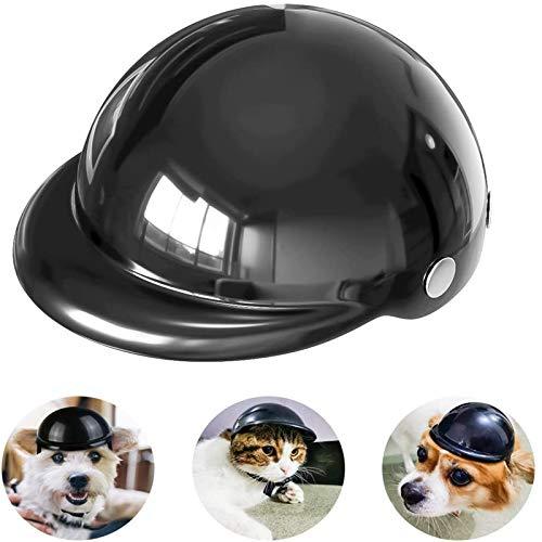 WXCCK Casco de Perro, Gato de Perro Gato de Seguridad para Motocicletas...