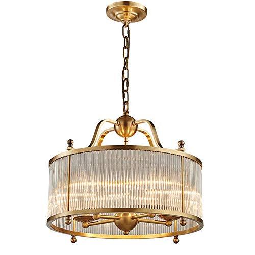 Kronleuchter Hochtemperatur-Porzellan Verarbeitung Moderne Gold Kupfer Kronleuchter Glühbirnen Energie rundes Glas Kupfer + Glas Innenleuchte/Wandleuchte