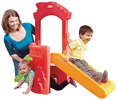 Little Tikes Climb 'n Slide Spielhaus -...