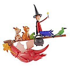 THE COMPLETE COLLECTION -- Recreate the magic of Julia Donaldson and Axel Scheffler's picture book adventures with your very own offical character figurines. This is the full set: The Witch and broomstick with her cauldron, along with Cat, Dog, Bird,...