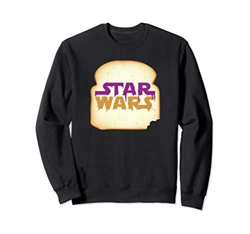 Star Wars Logo Peanut Butter and Jelly Sandwich Sweatshirt
