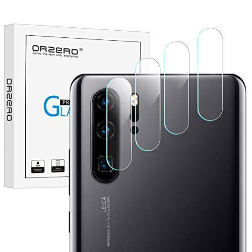 NEWZEROL 4 Packs per (Huawei P30 PRO) Fotocamera Pellicola Telecamera Vetro Temperato 2.5D Arc Edge Anti-Scratch 9 Durezza High-Definition Telecamera Pellicola Protettiva