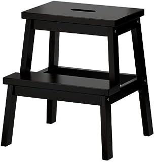 "comprar comparacion Ikea BEKVÃ""M - Taburete de madera de haya maciza, color negro"