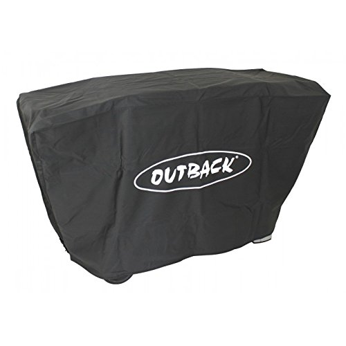 Outback Premium BBQ Cover To Fit Party 6 Burner > Water resistant and breathable protective cover with high thread count - OUT370539