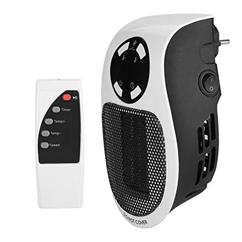 Limpio e insípido, seguro, 110-220 V, mini ventilador calefactor, pequeño calentador portátil, para precalentar la habitación