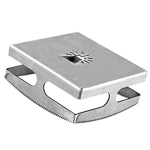T TOOYFUL Slot Cutter Quadrato, Quadrato Fresatura Cutter Intaglio per Muro a Secco, Universale Fori di Apriscatole Strumenti Quadrati Slot Cutter per Muro a - Quadrato