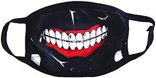 Bosi General Merchandise Cremallera de máscara, máscara de Polvo de Bicicleta, ventajas de Juego de Roles de Halloween