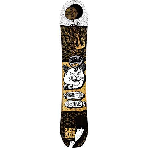 BuddyBuddy Herren Freeride Snowboard Catnip Eco, Größe:156W, Farben:no Colour