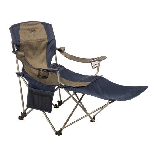 Kamp-Rite Chair with Removable Foot Rest One Size, Multi