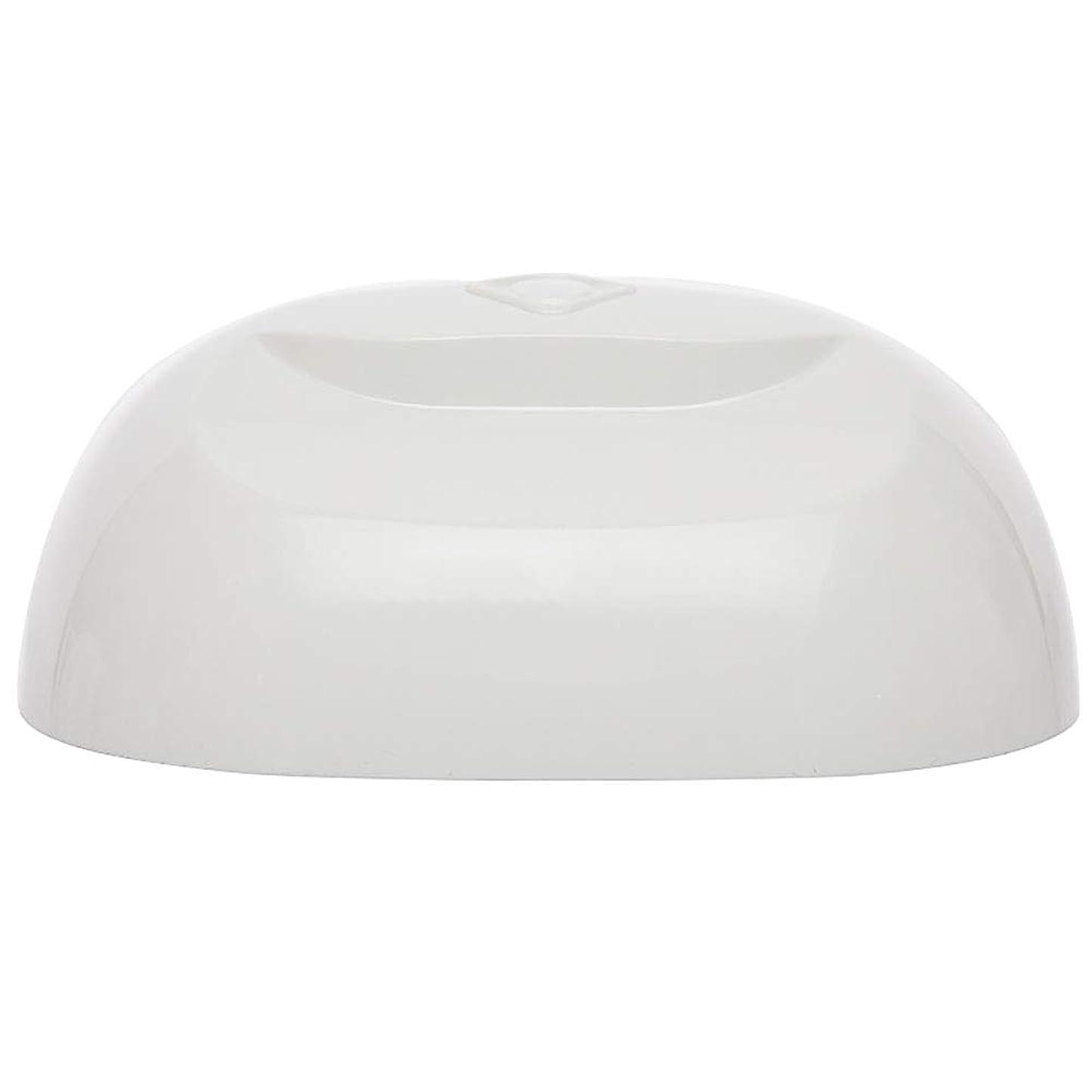 祖母トンネルルーフ釘のドライヤー - 自動赤外線センサー、二重光源のLEDランプのゲルのドライヤーのマニキュアが付いている紫外線携帯用LEDの釘ランプ